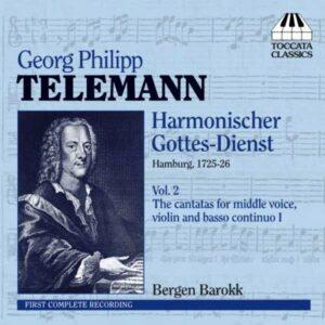 Georg Philipp Telemann : Six Cantates (Harmonischer Gottes-Dienst - Volume 2)
