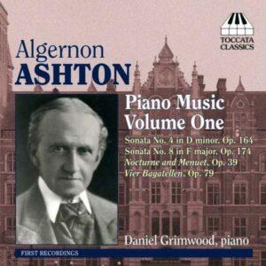 Algernon Ashton : Musique pour piano (Volume 1)