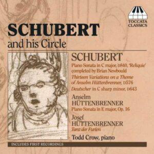 Schubert et son cercle. Crow.