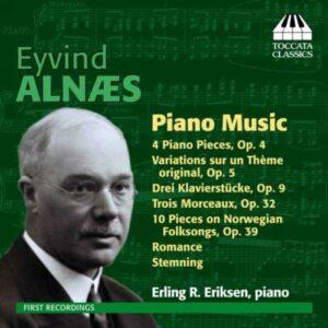 Eyvind Alnæs : Musique pour piano
