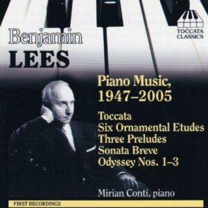 Benjamin Lees : Piano Music,1947-2005