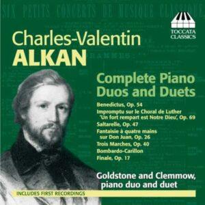 Charles-Valentin Alkan : Œuvres pour piano à 4 mains et pour duo de pianos