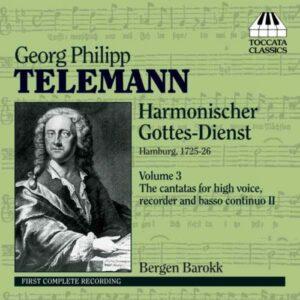 Georg Philipp Telemann : Harmonischer Gottes-Dienst (Volume 3)