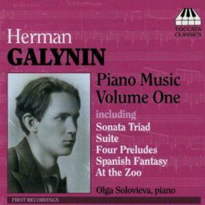 Herman Galynin : Piano Music Vol.1