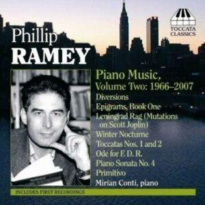 Phillip Ramey : Piano Music Vol.2