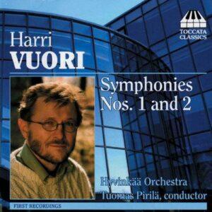 Harri Vuori : Symphonies Nos. 1&2