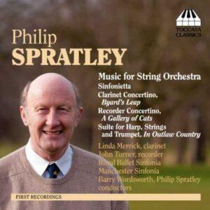 Philip Spratley : Musique pour orchestre à cordes