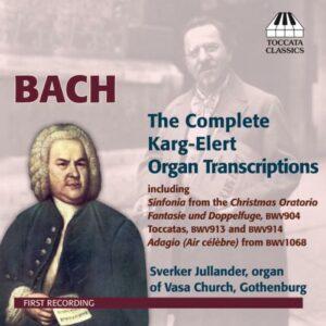 Bach : Les œuvres transcrites pour orgue.