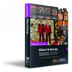 Tim Marlow with Gilbert & George