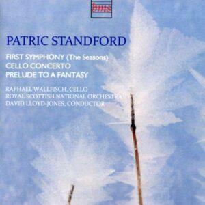 Standford : Symphonie n° 1 - Concerto pour violoncelle. Wallfisch, Lloyd-Jones.