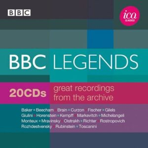 BBC Legends : Great recordings from the archive.