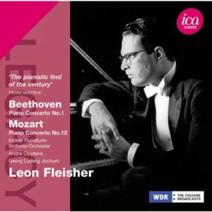 Beethoven, Mozart : Concertos pour piano. Fleisher, Cluytens, Jochum.