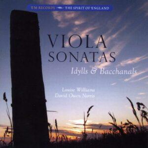 Bax, Jacob, Milford, Leighton : Sonates pour alto. Williams, Norris.
