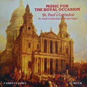 Musique royale de la Cathédrale St Paul de Londres. Dearnley, Rose.