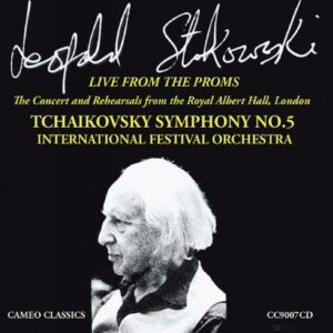 Leopold Stokowski dirige Tchaikovski : Live from The Proms 1973.