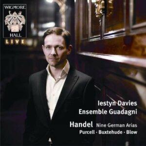 Handel/Purcell/Buxtehude/Blow : Nine German Arias/