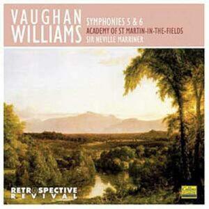 Williams : Symphonies n° 5 et 6. Marriner.