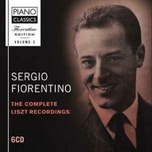 Edition Sergio Fiorentino, Vol. 2 - Intégrale des enregistrements Liszt.