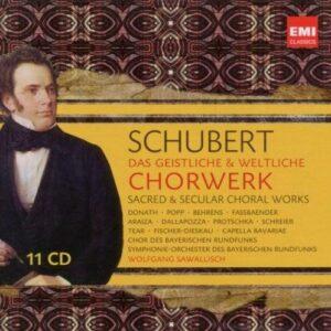Schubert : Œuvres chorales. Sawallisch.