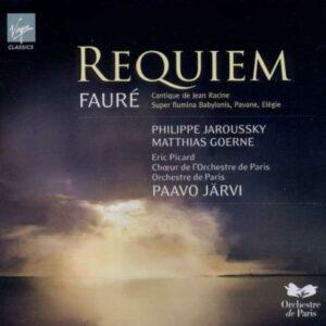 Faure : Requiem, Pavane, Cantique de Jean Racine, Elégie, Psaume Super Flumina Babylonis