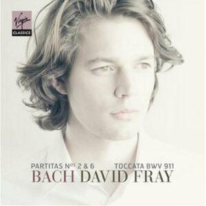 Bach : Partitas 2 & 6, Toccata BWV911. Fray.