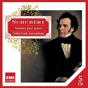 Schubert : Sonates pour piano. Zacharias.
