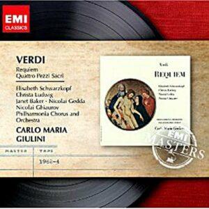 Verdi : Requiem. Schwarzkopf, Giulini.