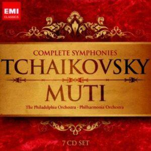 Tchaikovski : L'intégrale des symphonies. Muti.