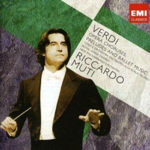 Verdi : Chœurs d'opéras, Ouvertures & musiques de ballets
