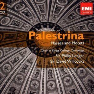 Palestrina : Messes 'Ave Maria', 'Hodie Christus Natus Est', 'Papae Marcelli', Missa Brevis