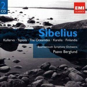 Sibelius : Kullervo, Tapiola, Océanides, Karelia, Finlandia, Sérénades 1 & 2