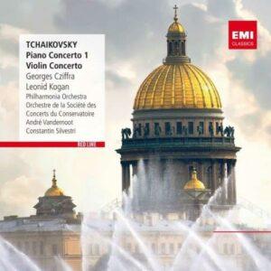 Tchaikovski : Conc. piano n°1, Conc. violon