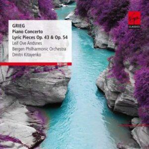Grieg : Conc. piano, Pièces lyriques