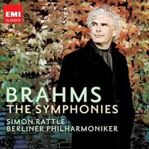 Brahms : Symphonies n° 1-4. Rattle.