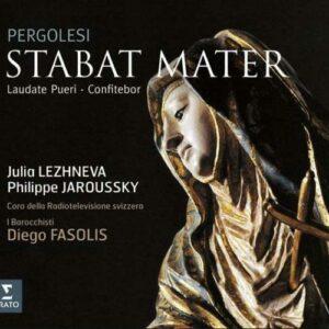 Pergolesi : Stabat Mater, Laudate Pueri, Dominum. Fasolis.