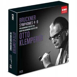 Otto Klemperer : Symphonies n°4, 5, 7, 8 et 9 deBruckner.