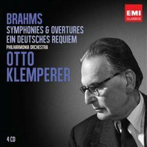 Otto Klemperer : Brahms Symphonies, Ouvertures, Requiem.
