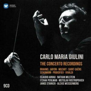 Carlo Maria Giulini : The Concerto Recordings.