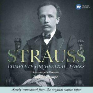 Strauss : Complete Orchestral Works.