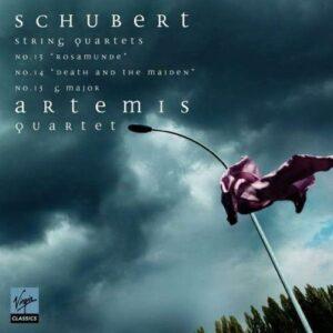 Schubert : Quatuors à cordes n° 13 et n° 14. Quatuor Artemis.