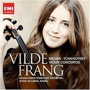 Nielsen : Concerto pour violon. Tchaikovski : Concerto pour violon. Frang, Jensen.