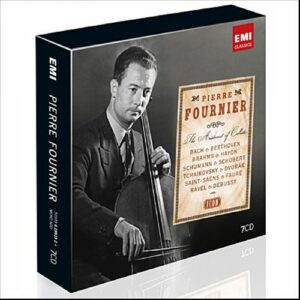 Pierre Fournier : Bach, Beethoven, Brahms.