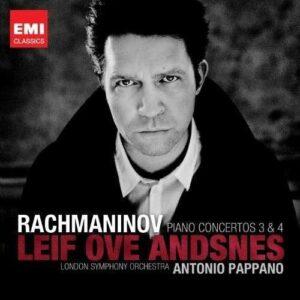 Rachmaninov : Concertos pour piano n° 3, 4. Andsnes, Pappano.