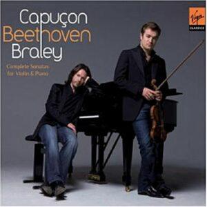Beethoven : Sonates pour violon et piano. Capuçon.