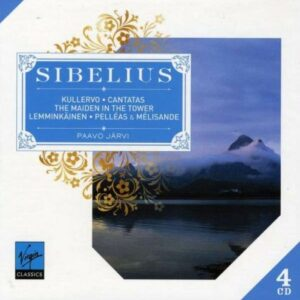 Sibelius : Kullervo, Maiden in the tower, Pelléas et Mélisande, Valse triste, Nightride and sunrise, Luonnotar, Lemminkäinen Suite, Cantates, Finlandia