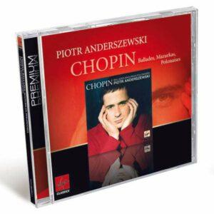 Chopin : Mazurkas op.59 & 63, Ballades op.47 & 52, Polonaises op.44 & 53