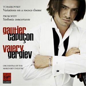 Tchaikovski : Variations rococo. Capuçon, Gergiev.