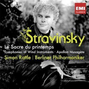 Stravinski : Le sacre du Printemps. Rattle.