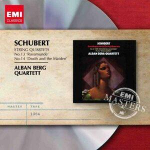 Schubert : Quatuors à cordes n°14 'La jeune fille et la mort' & 13 'Rosamunde'