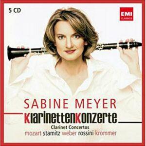 Sabine Meyer : Klarinetten Konzerte.